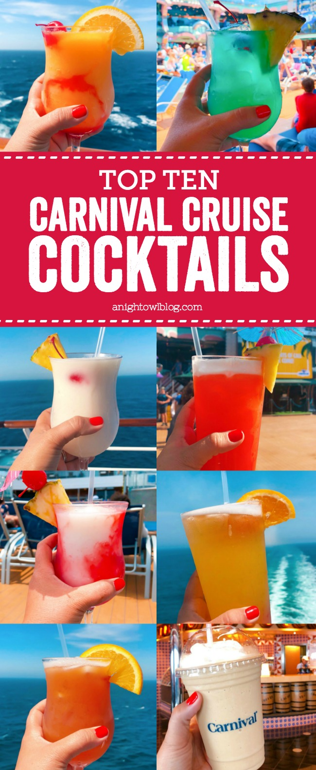Carnival Halloween Cruise 2019.Top Ten Carnival Cruise Drinks A Night Owl Blog