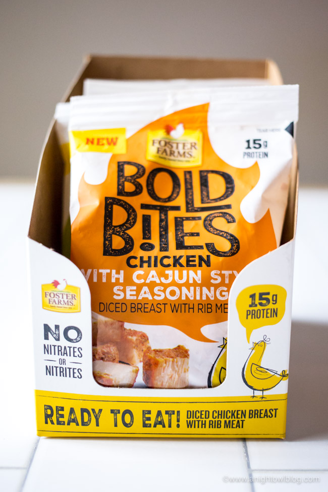 Perfect for snacking on the go, whip up these Easy Low Carb Snack Packs with NEW Foster Farms Bold Bites!