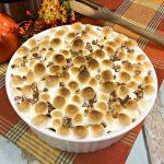 Easy Instant Pot Sweet Potato Casserole