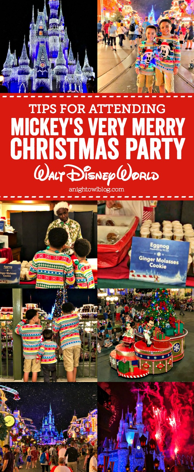 The after hours event is full of live entertainment and holiday cheer. Here are some great Mickey's Very Merry Christmas party tips.