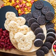 Mickey Mouse Themed Snack Board