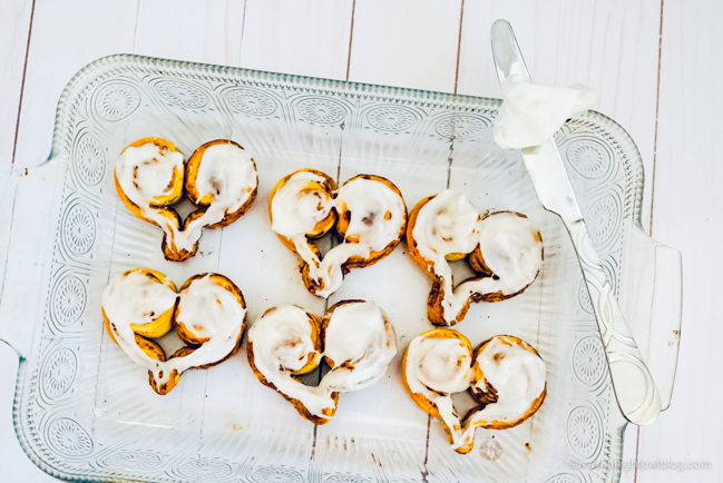 Perfect for Valentine's Day Breakfast, whip up these easy and adorable Heart Shaped Cinnamon Rolls made with store bought cinnamon rolls!