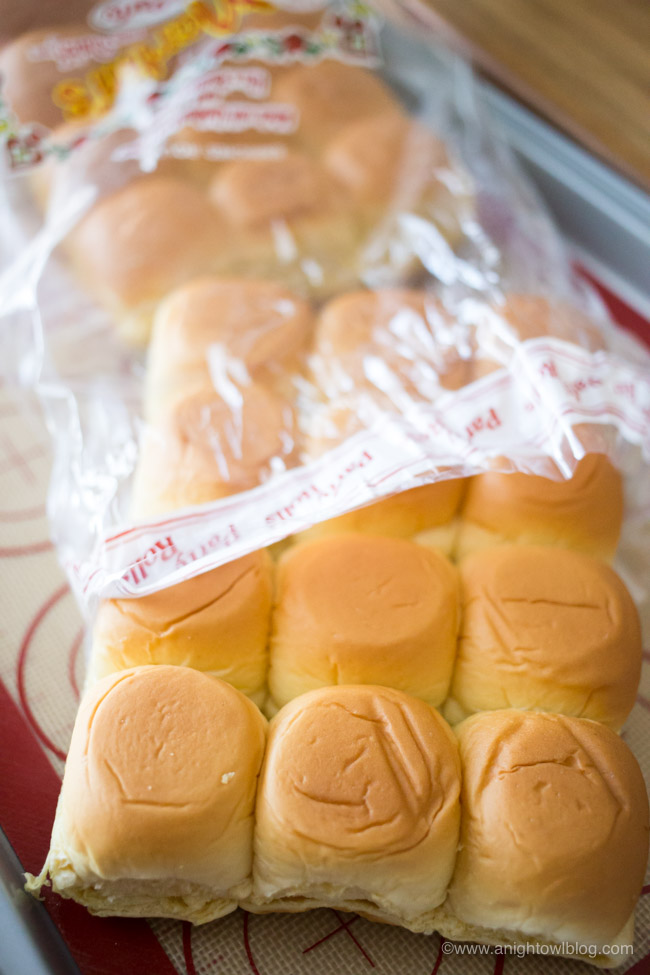 Perfect for parties, game day and more, whip up these delicious and easy Instant Pot Buffalo Chicken Sliders with Martin's Famous Potato Rolls!
