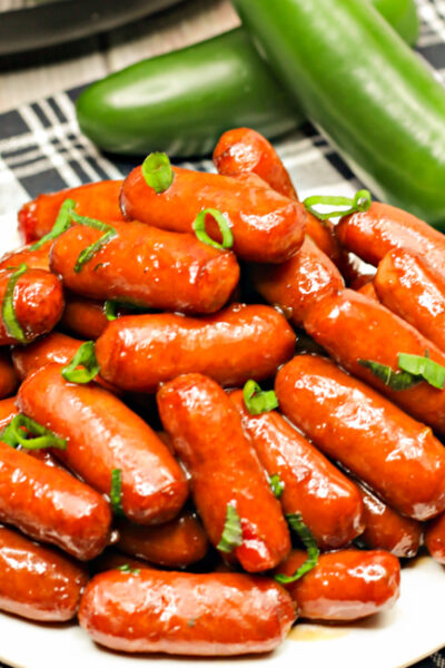 These Instant Pot Cocktail Wieners are the perfect, effortless appetizer to make for your next party or get together!