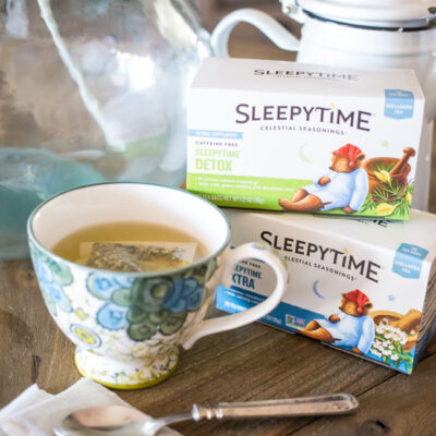 Add Celestial Teas to your heath and wellness routine to keep you on track to meet all your New Year's Goals.