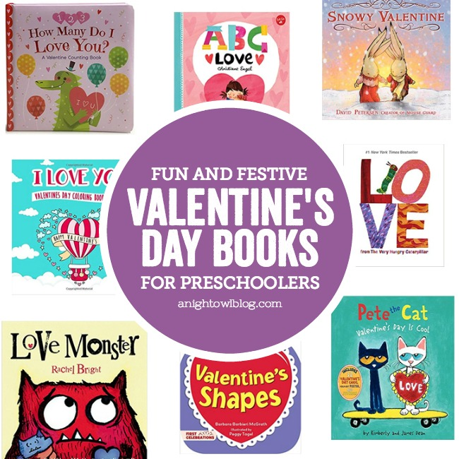 Your little ones will love reading books from this fun and festive list of Valentine's Day Books for Preschoolers!