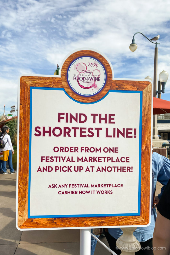 Disney California Food and Wine Festival Tips