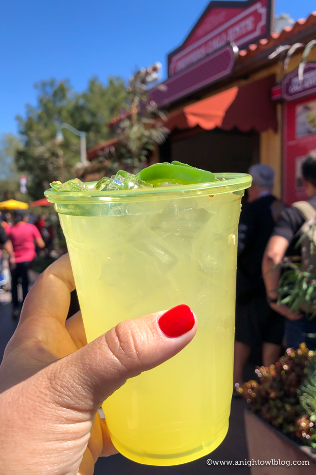 Jalapeño-Lime Margarita from Peppers Cali-Ente | Disney California Adventure Food and Wine Festival 2019