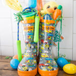 Rain Boot Easter Baskets