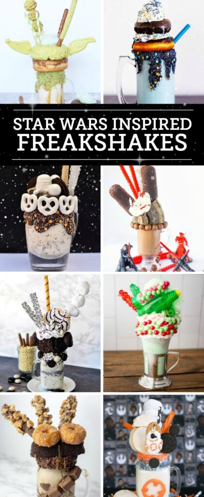 Star Wars Inspired Freakshakes
