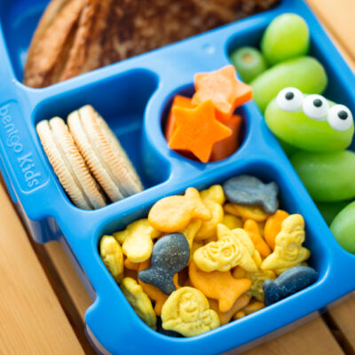 Perfect for fans of Toy Story and Goldfish Crackers®, this Disney Pixar Toy Story lunch is filled with Toy Story-inspired eats and new Toy Story Goldfish® Crackers!