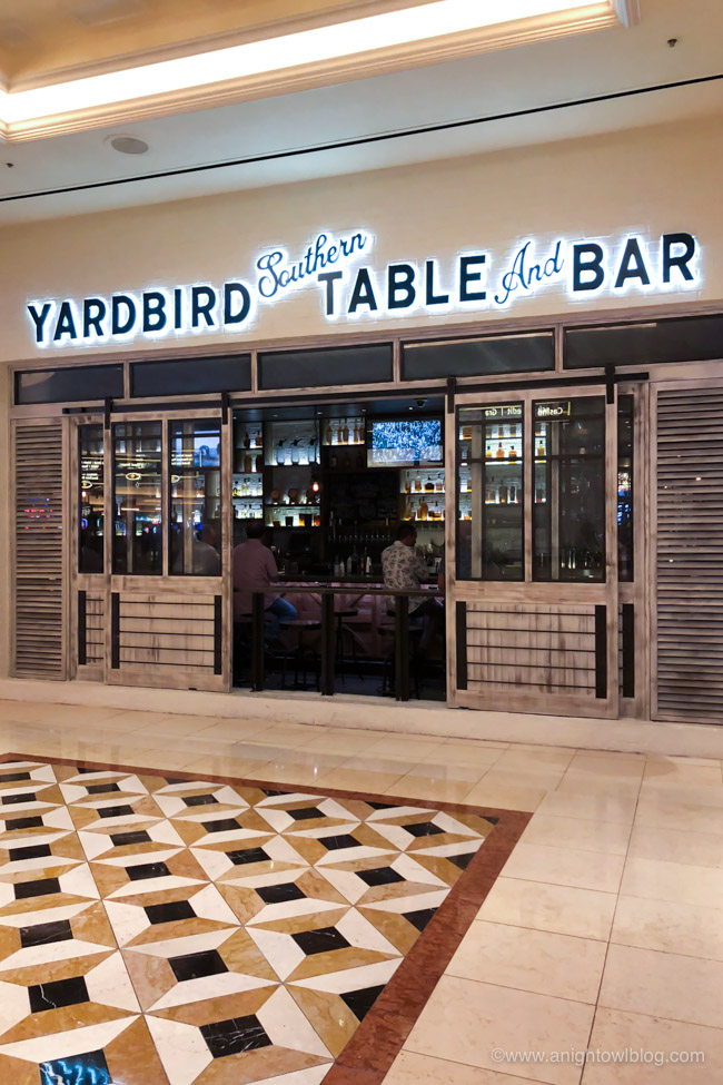 Yardbird Southern Table and Bar