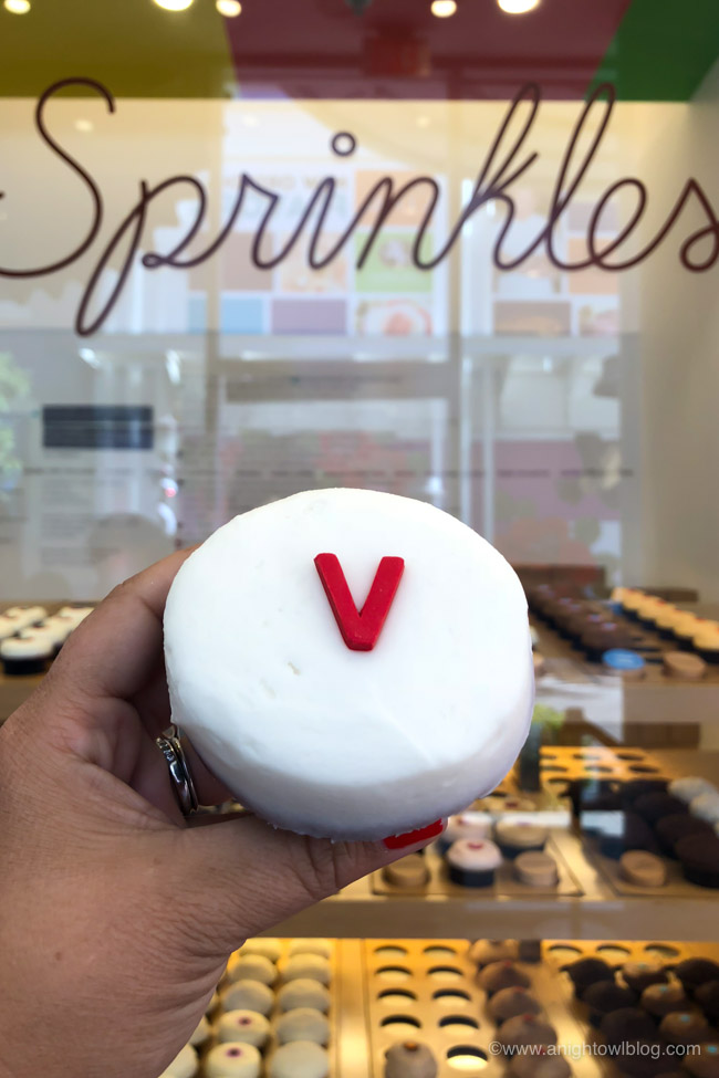 Vegan Cupcake at Sprinkles Cupcakes