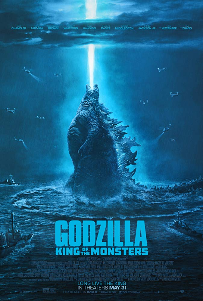 Godzilla King of Monsters Movie Poster
