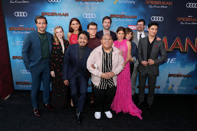 Cast of Spider-Man: Far From Home