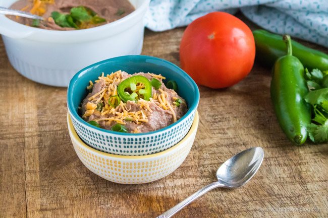 No soaking needed! Whip up delicious Instant Pot Refried Beans in a fraction of the time without skimping on the homemade taste!