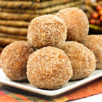 Easy Baked Pumpkin Donut Holes