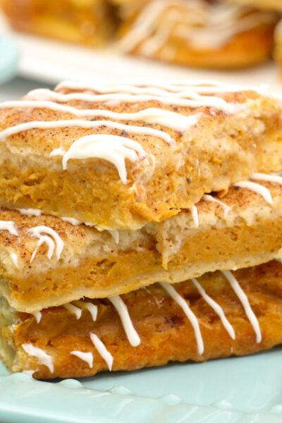The perfect treat for fall, whip up these delicious Pumpkin Churro Cheesecake Bars in just a few easy steps!