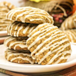 Pumpkin Oatmeal Cookies with Maple Icing