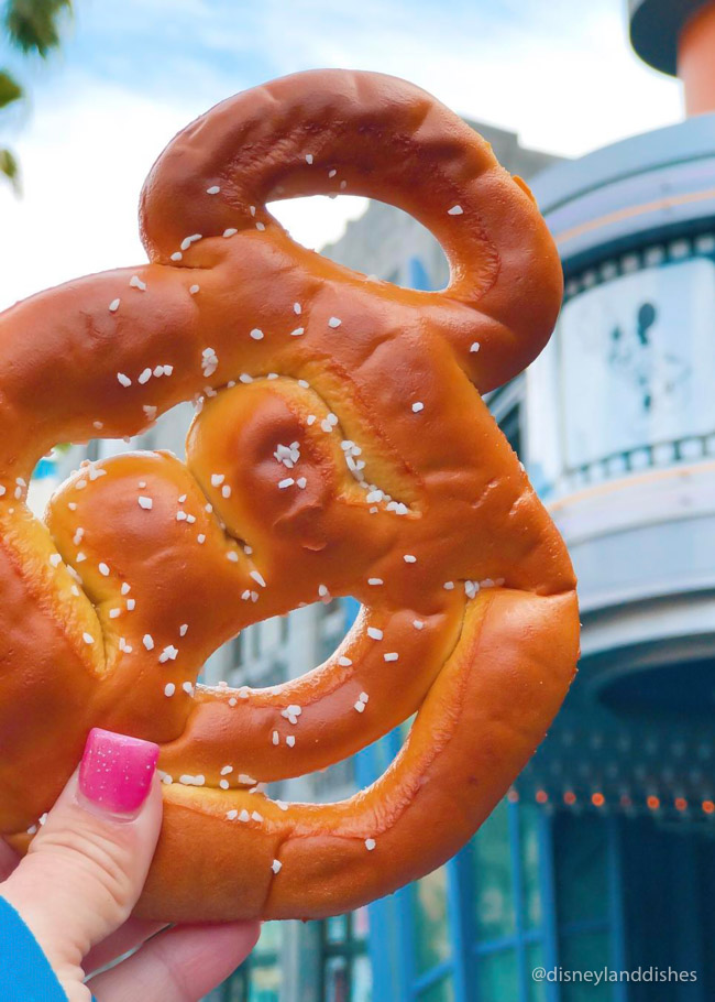 Mickey Pretzel from Pretzel Carts
