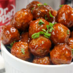 Instant Pot Dr. Pepper Meatballs