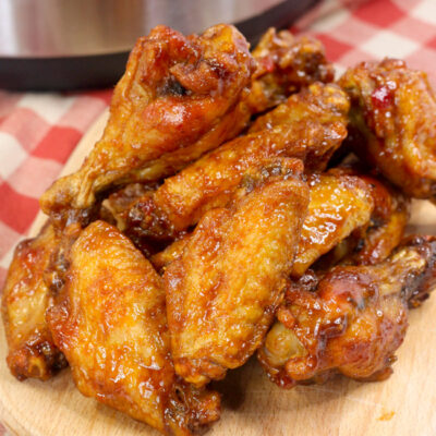 You're going to love the spicy-sweet goodness of these Instant Pot Jalapeño BBQ Chicken Wings, made in the convenience of your pressure cooker!