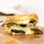 Roasted Poblano Grilled Cheese Sandwich